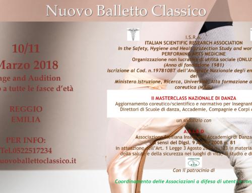 II Masterclass Nazionale di Danza